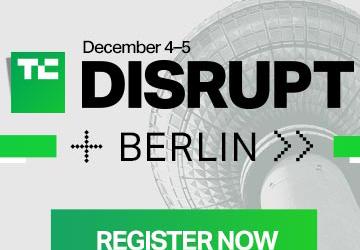 Tech Crunch Disrupt Berlin – 4 et 5 décembre
