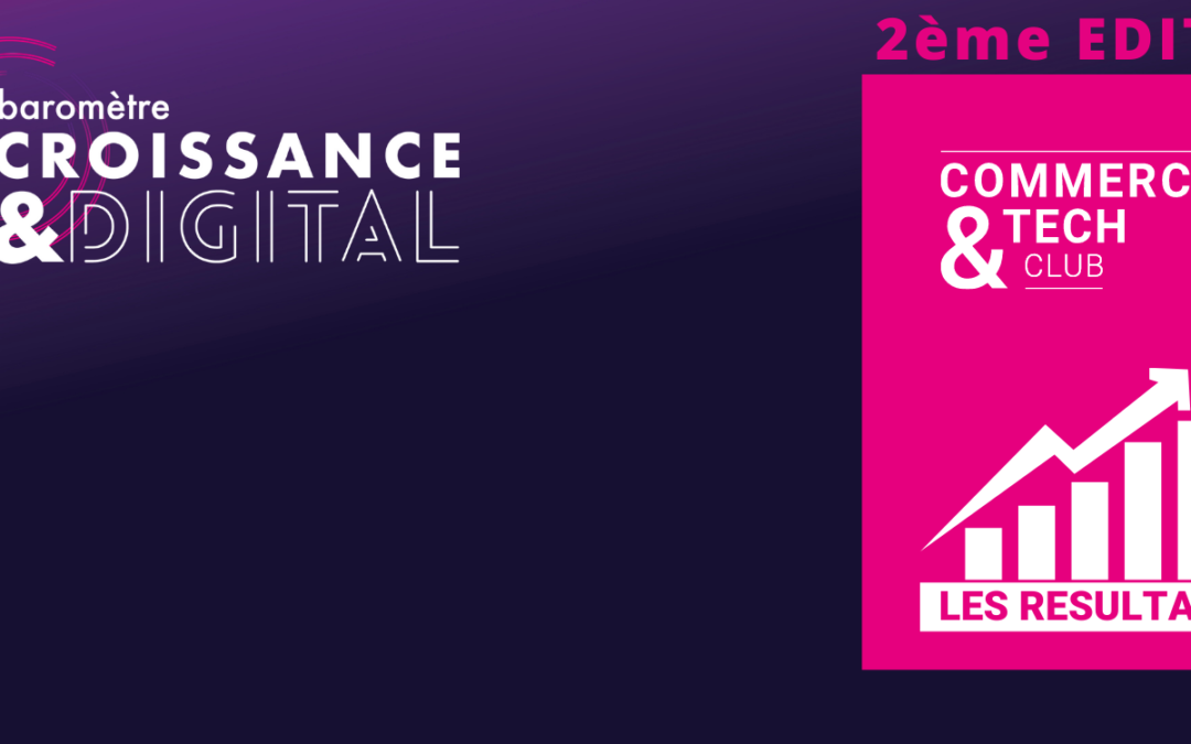 Baromètre Croissance & Digital – 2ème Edition – Les résultats