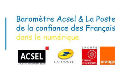 """Baromètre """"La confiance des Français dans le numérique"""" résultats de la 6ème édition"""