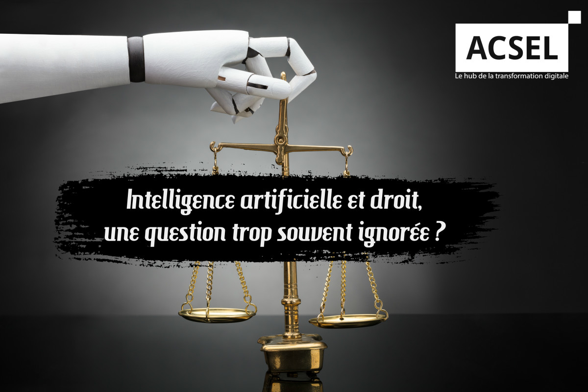 Intelligence artificielle et droit