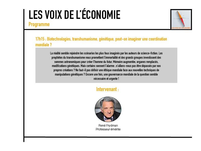 Les voix de l'économie Programme10