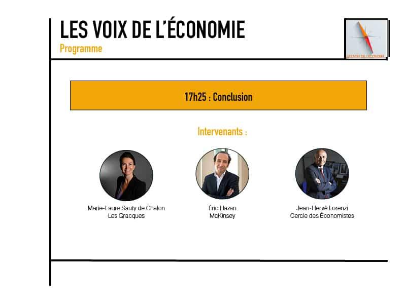 Les voix de l'économie Programme11