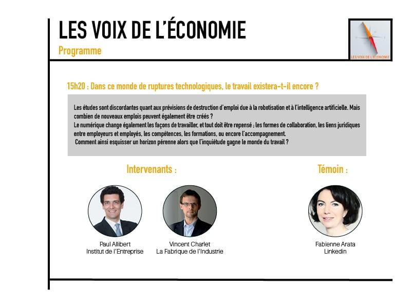 Les voix de l'économie Programme4