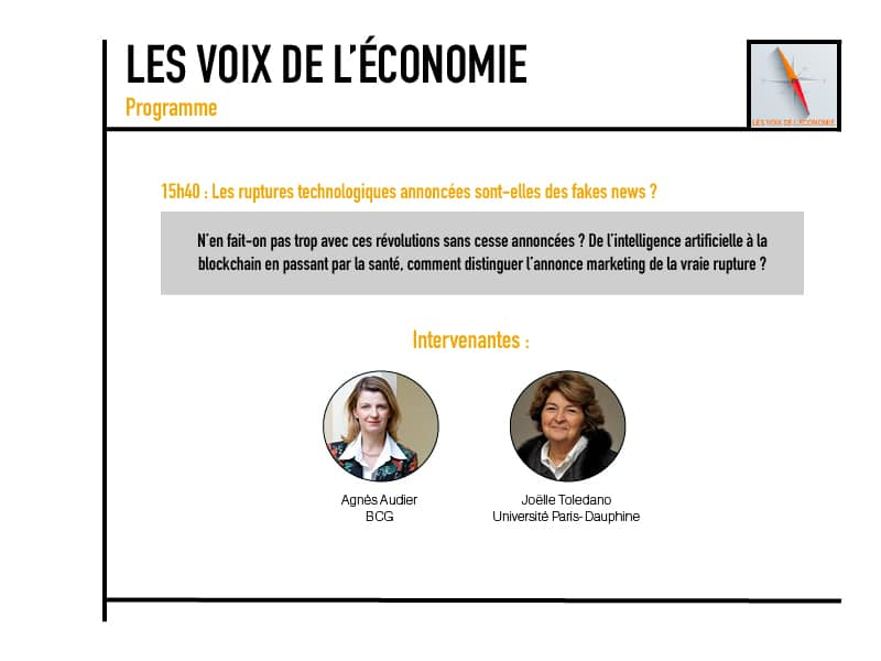 Les voix de l'économie Programme5
