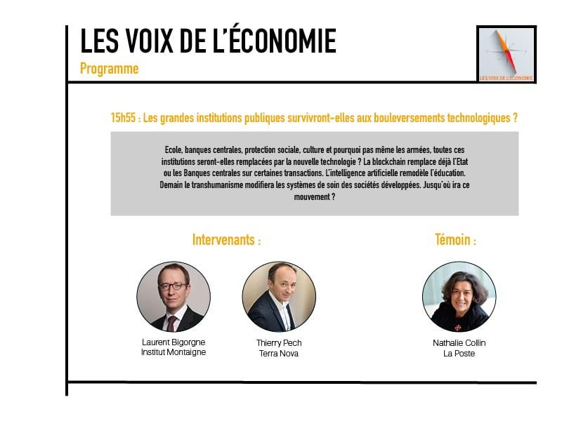 Les voix de l'économie Programme6