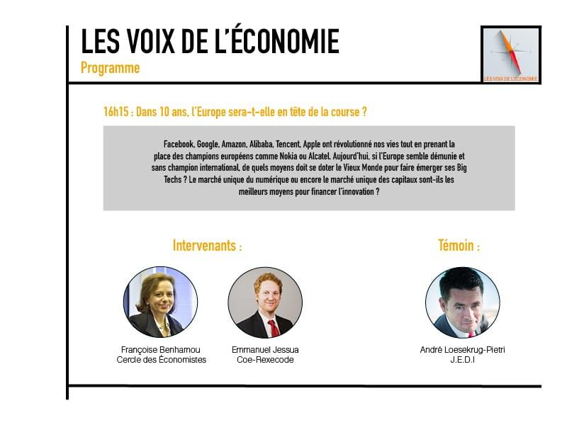 Les voix de l'économie Programme7