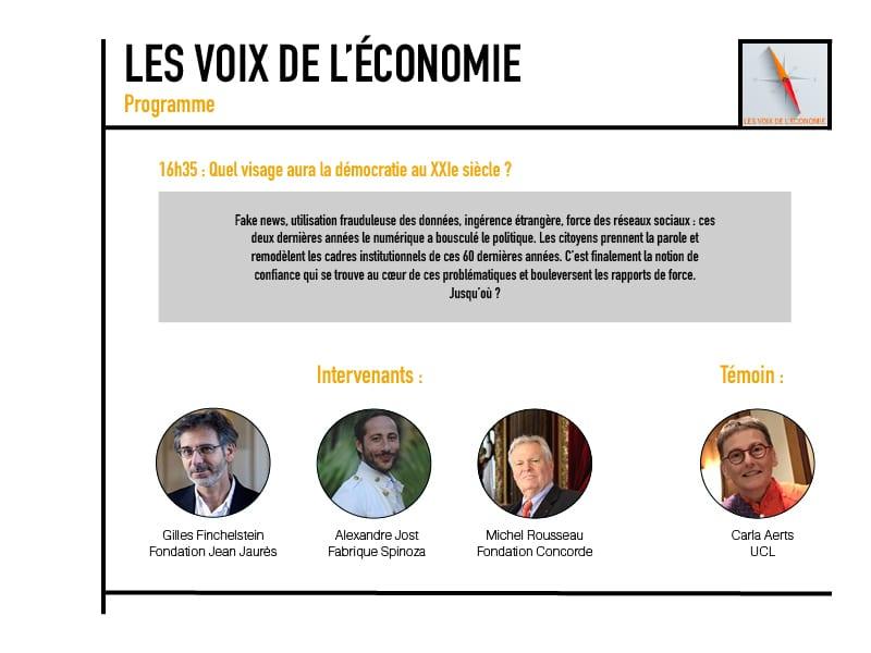 Les voix de l'économie Programme8