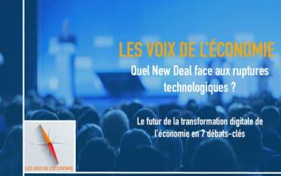 Les Voix de l'Économie : Cyril Zimmermann ouvre les débats sur la nécessité d'un « New Deal »