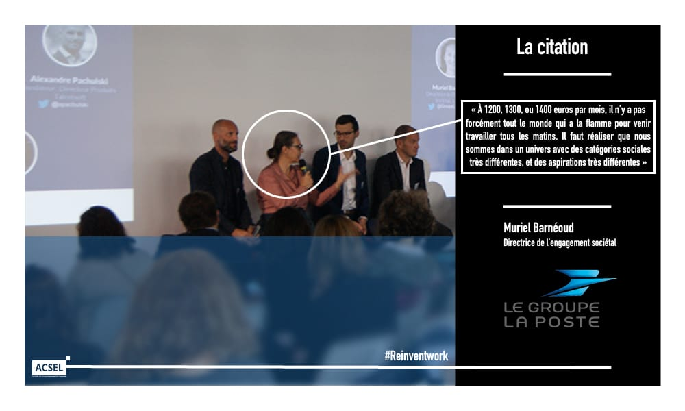 Muriel Barnéoud, directrice de l'engagement sociétal Groupe La Poste