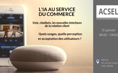 L'IA au service du commerce et de la relation client