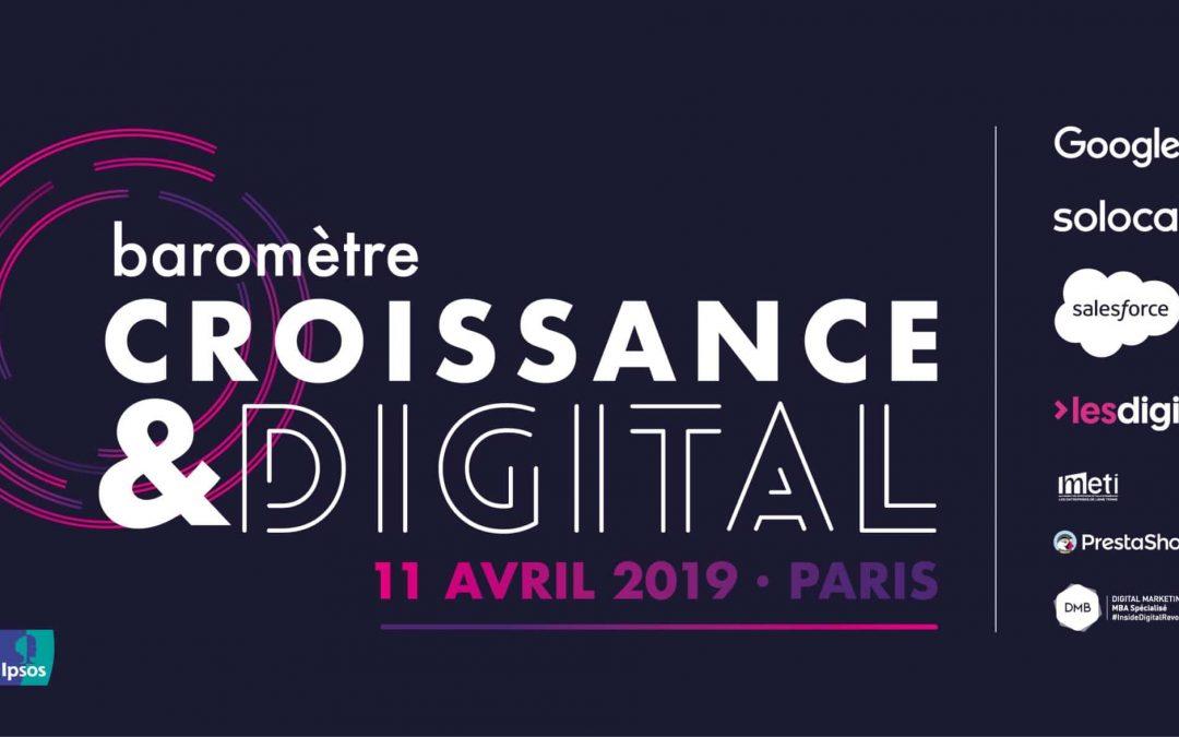 Baromètre Croissance & digital 3ème édition