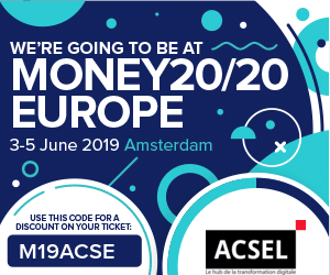 Let's meet at Money20/20 Europe in June 2019