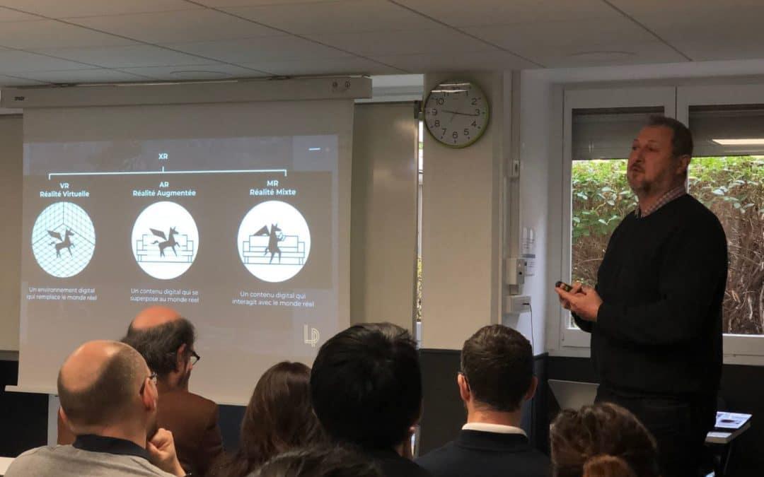 La réalité virtuelle au service des RH et de la formation