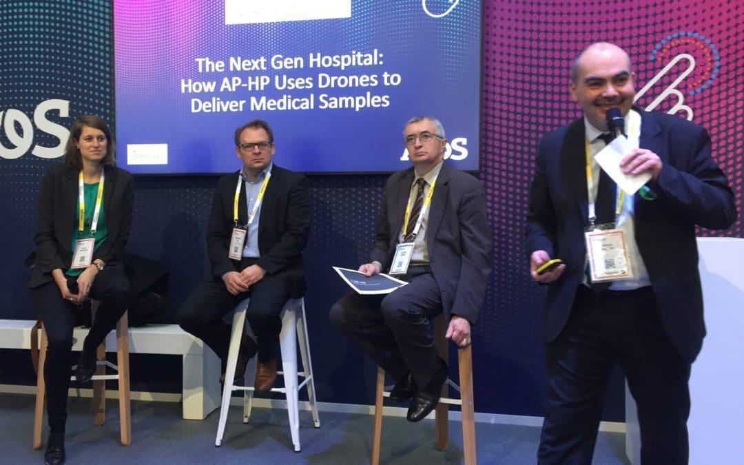 Des drones volent au secours des transports médicaux de l'AP-HP