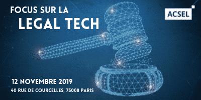 Focus sur la Legal Tech