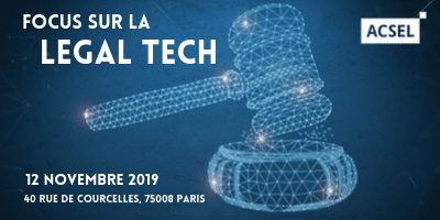 Focus sur la Legal Tech