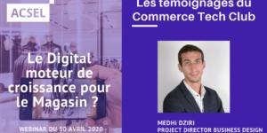 New Retail Era & Covid Impact : témoignage de Mehdi Dziri, Project Director Business Design de Fabernovel