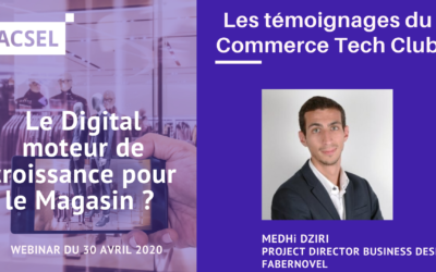New Retail Era & Covid Impact : témoignage de Mehdi Dziri, Project Director Business Design de Fabernovel