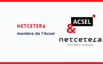 Pourquoi Netcetera a rejoint l'Acsel