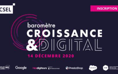 Baromètre croissance & digital : le digital bouclier contre la crise sanitaire ? [14/12]