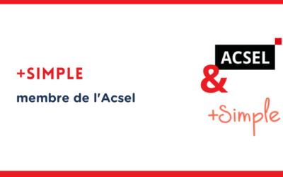 Pourquoi +Simple a rejoint l'Acsel
