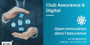 Open Innovation dans l'assurance : partage d'expériences et panorama en France et ailleurs