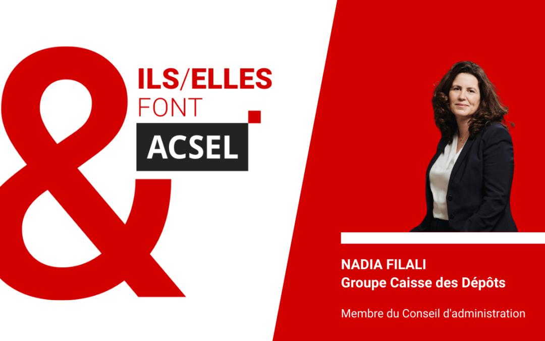 Rencontre avec Nadia Filali