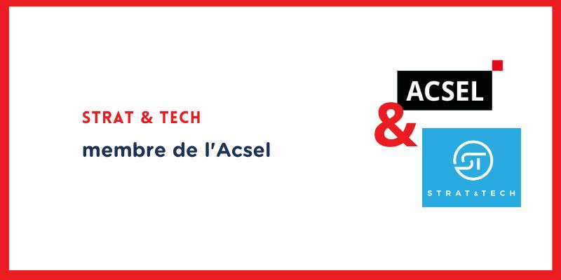 Pourquoi Strat & Tech a rejoint l'Acsel